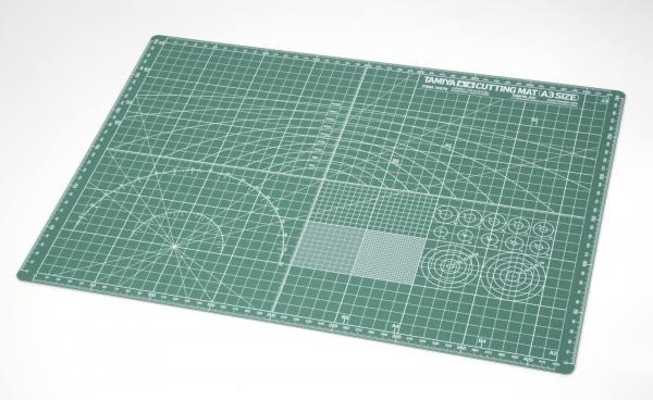 74076 - Tamiya - Schneidunterlage DIN A3, grün