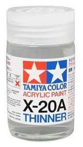 81030 - Tamiya - Verdünner 46ml, Arcyl X-20A