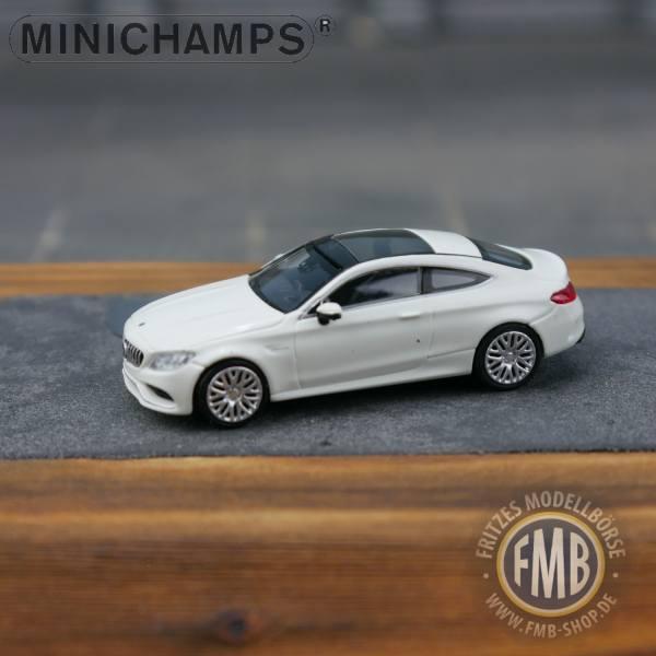 037021 - Minichamps - Mercedes-Benz AMG C 63 Coupé (2018), weiß
