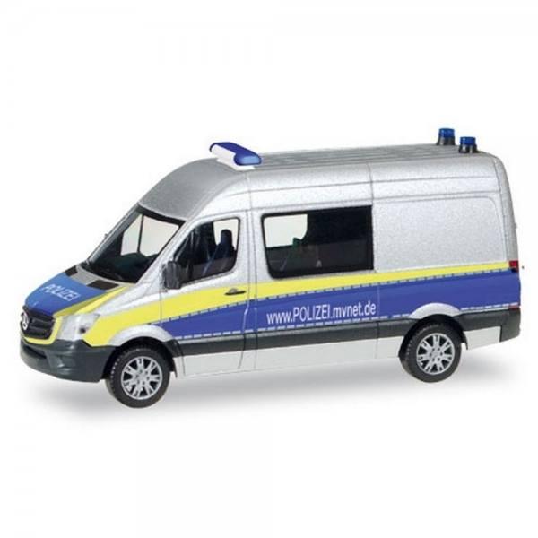 """093088 - Herpa - Mercedes-Benz Sprinter Halbbus """"Polizei Mecklenburg-Vorpommern"""""""
