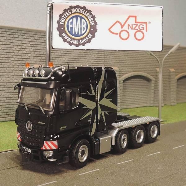 9371/50 - NZG - Mercedes-Benz Arocs BigSpace SLT 4achs Zugmaschine -schwarz-