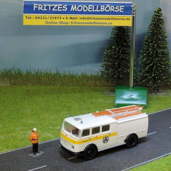 HC2037 - Heico - MB LP311 Pullman Tanklöschfahrzeug TLF16 Bachert - Zivilschutz Mannheim-