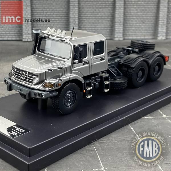 32-0080 - IMC - Mercedes-Benz Zetros 3achs Zugmaschine 6x6 mit Doppelkabine, silber