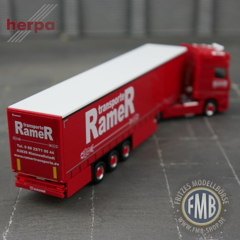 nuevo Herpa 053266 rammschutz para Mercedes-Benz actros 11-4 unid embalaje original