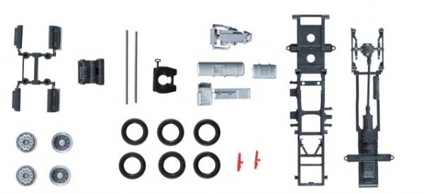 084116 - Herpa - TS Lowliner-Fahrgestell Mercedes-Benz Actros`11 Zugmaschine - 2 Stück
