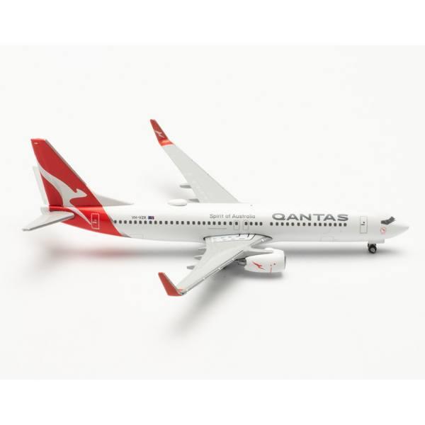 """535502 - Herpa Wings - Qantas Boeing 737-800 """"Coral Bay"""""""