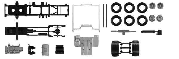 084550 - Herpa - TS Fahrgestell Zugmaschine DAF XF Euro6 mit Verkleidung - 2 Stück
