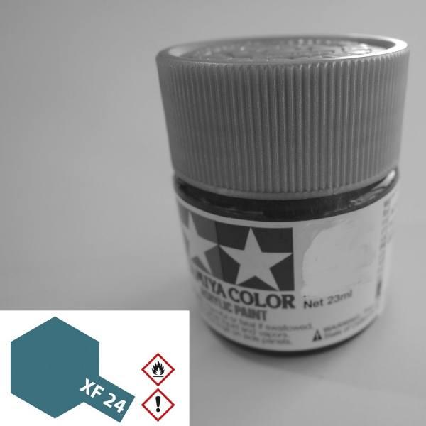 81324 - Tamiya - Acrylfarbe 23ml, dunkelgrau matt XF-24