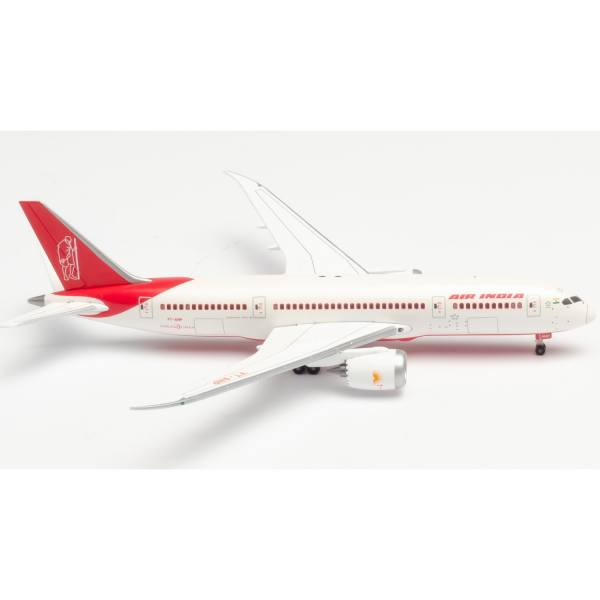 """534512 - Herpa Wings - Air India Boeing 787-8 Dreamliner """"150 Year Mahatma Ghandi"""""""