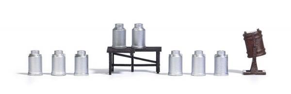 1188 - Busch - Ausgestaltung Milchsammelstelle - Bausatz