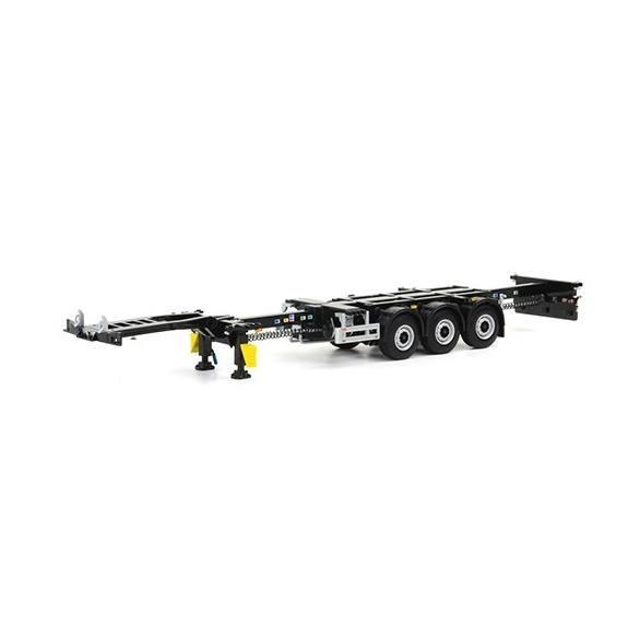 03-1010 - WSI - 3achs Containerchassi, schwarz