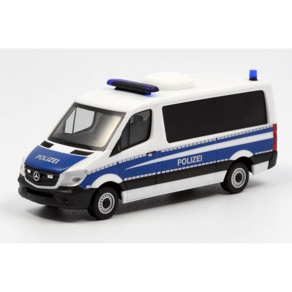 """940276 - Herpa - Mercedes-Benz Sprinter `13 Bus Flachdach HGruKw """"Bereitschaftspolizei"""""""
