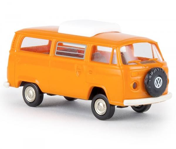 33138 - Brekina - VW T2 Camper mit Hubdach, orange