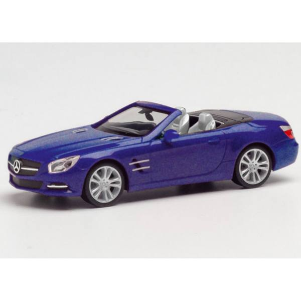 034838-002 - Herpa - Mercedes-Benz SL Cabrio, cavansitblau metallic
