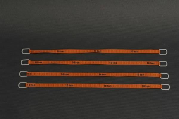 YC338-3 - YCC - Anschlaggurte, orange -18cm- 10 Tonnen Version -4 Stück