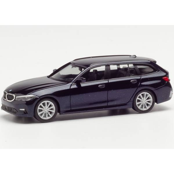 430821 - Herpa - BMW 3er Touring, tansanitblau metallic