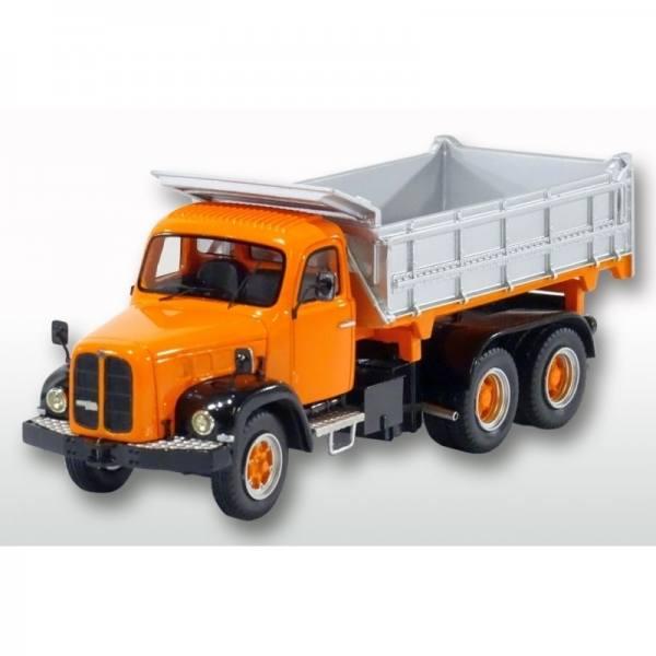 G0008332 - Golden Oldies - Berna 5Vm 6x4 4achs Kipper, orange