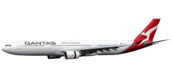 611510 - Herpa - Qantas Airbus A330-300 -2016 colors- - 1:200