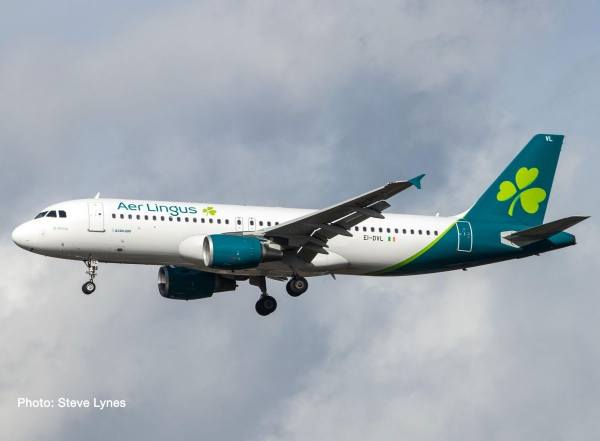 """533690 - Herpa - Air Lingus  Airbus A320 """"St. Moling / Molling"""""""