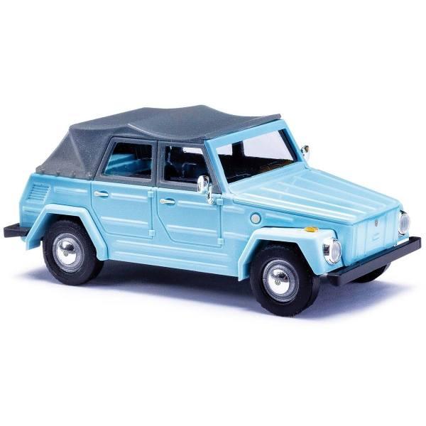 52702 - Busch -  VW 181 Kurierwagen `70, Verdeck geschlossen, pastellblau