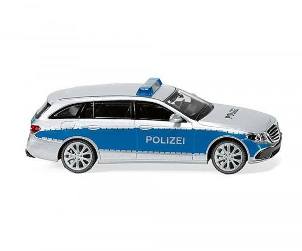 "022710 - Wiking - Mercedes-Benz E-Klasse T-Modell (S213) Funkstreifenwagen ""Polizei Hamburg"""