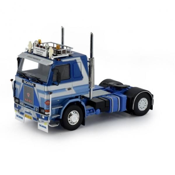 50526 - B-Ware - Tekno - Scania 142M 2achs Zugmaschine - L van der Graf
