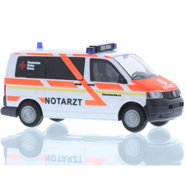 """51934 - Rietze - VW T5 Bus - NEF """"DRK Köln / Notarzt"""""""