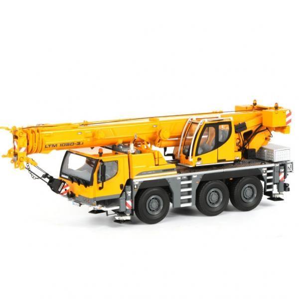 04-1037 - WSI - Liebherr LTM 1050-3.1 Mobilkran, gelb