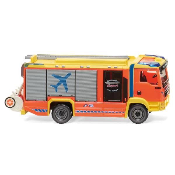 """061243 - Wiking - MAN TGM Euro6 - Rosenbauer AT Löschfahrzeug """"Hamburg Airport"""""""