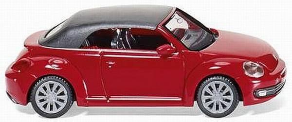 002849 - Wiking - VW Beetle Cabrio geschlossen -Tornadorot-
