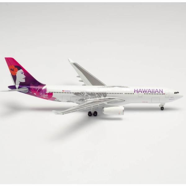 "535557 - Herpa Wings - Hawaiian Airlines Airbus A330-200 ""Hoku Mau"""