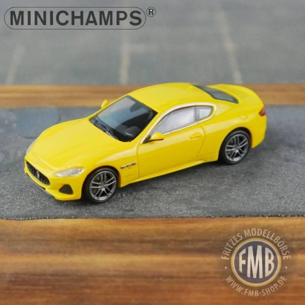 123120 - Minichamps - Maserati Granturismo (2018), gelb