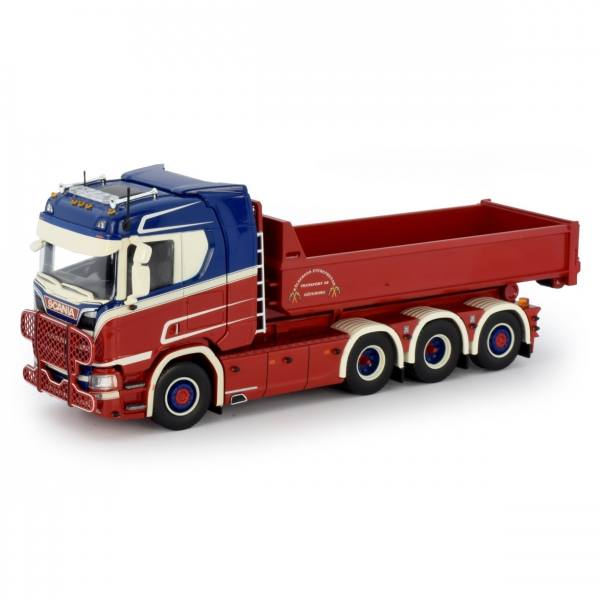 75068 - Tekno - Scania R-serie 4achs mit Container - Kalsrads - S -