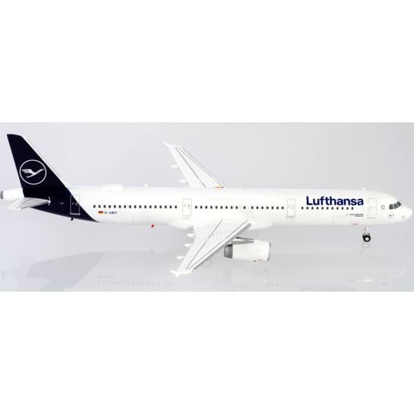 """559959 - Herpa - Lufthansa Airbus A321 """"Die Maus"""" """"Flensburg"""""""