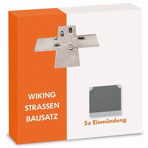 119904 - Wiking - Strassen Bausatz - 5x Einmündung
