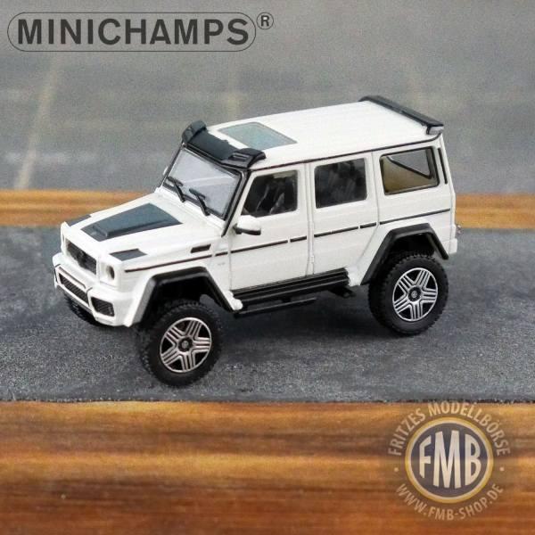 037200 - Minichamps - Brabus 4x4² auf Basis Mercedes-Benz G500 4x4² (2016), weiß