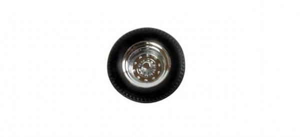 052795 - Herpa - Radsätze für Auflieger einteilig -chrom-