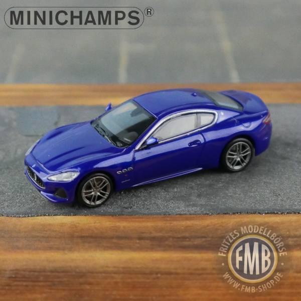 123121 - Minichamps - Maserati Granturismo (2018), dunkelblau metallic