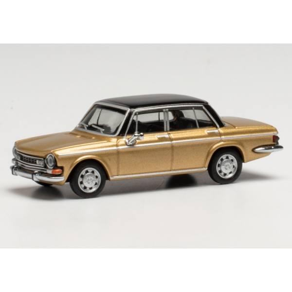 430746 - Herpa - Simca 1301 Special, gold / schwarz