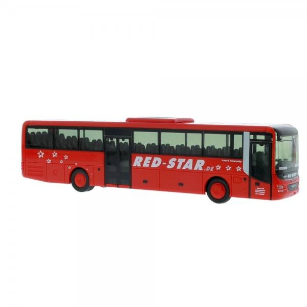 "74708 - Rietze - MAN Lion''s Intercity Überlandbus ""Red Star / Fahrschule Erbes"""