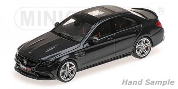 038600 - Minichamps - Brabus 600 auf Basis Mercedes-Benz AMG C 63 S (2015), schwarz