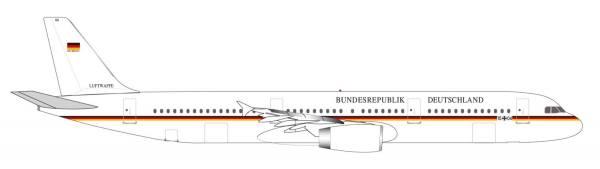 """531986 - Herpa - Luftwaffe   Airbus A321 """"Flugbereitschaft 15+04"""" - 1:500"""