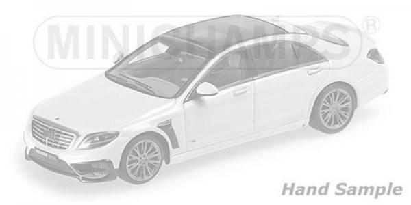 038501 - Minichamps - Brabus 850 auf Basis Mercedes-Benz AMG S 63 (2015), silber