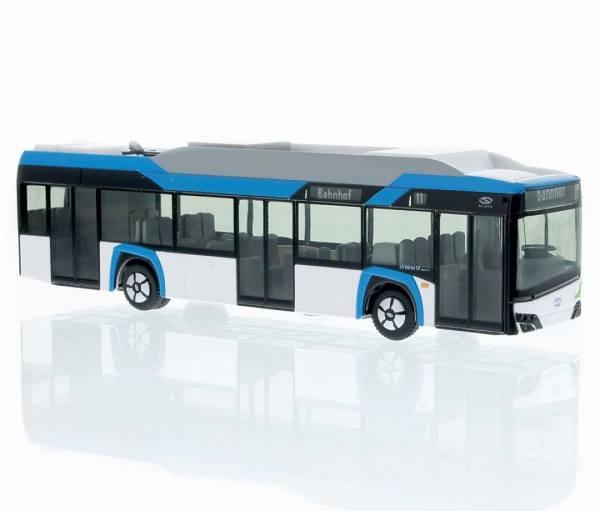 "76801 - Rietze - Solaris Urbino Electric 12 `19 E-Stadtbus, 3türig ""Vorführdesign"""