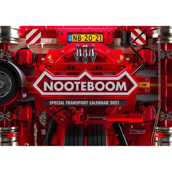 584.55.31 - Nooteboom Kalender 2021 - Schwertransporte