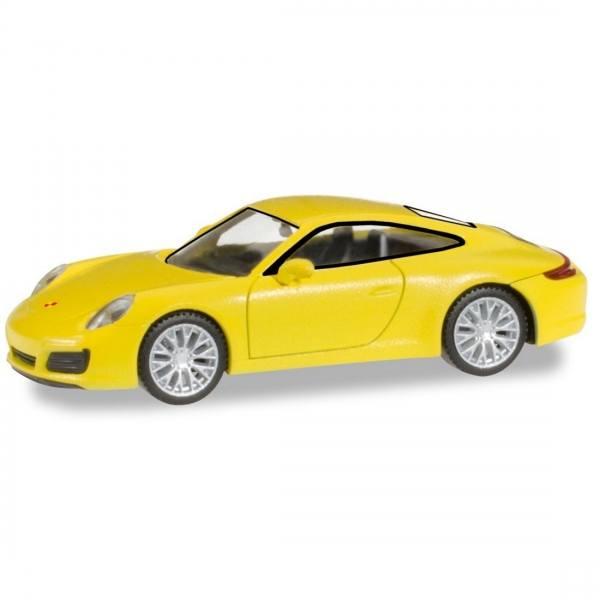 """028639 - Herpa - Porsche 911 Carrera 4S """"racinggelb"""""""