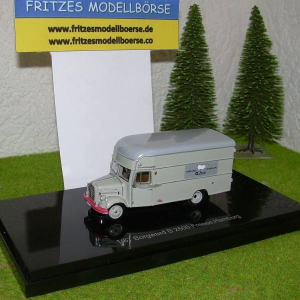 99007 - NPE - Borgward B2500 Koffer -Fuhrbetrieb Freese, Hamburg