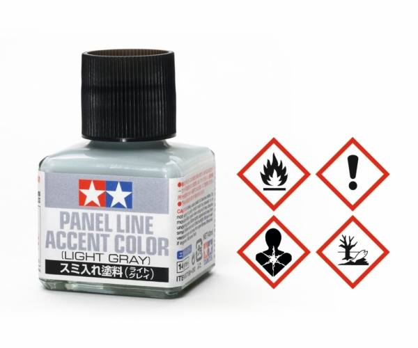 87133- Tamiya - Panel Accent Color Grau 40ml