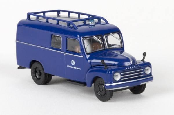 """58159 - Starline - Hanomag L 28 Kasten (1950-1960) """"THW - Technisches Hilfswerk"""""""