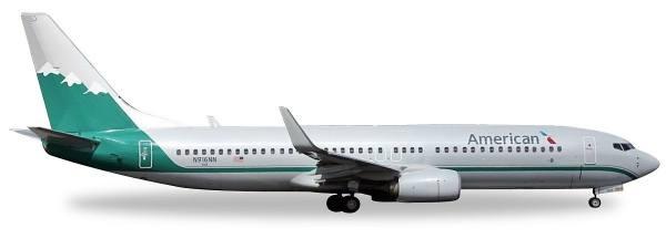 "529372 - Herpa - American Airlines ""Reno Air Heritage Livery"" Boeing 737-800 - 1:500"